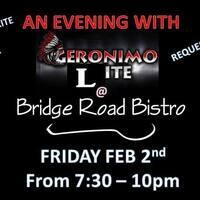 Geronimo Lite at The Bistro!!