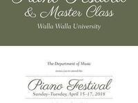 Piano Festival 2018 @ Walla Walla University Department of Music