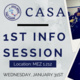 1st Info Session Central American Student Association