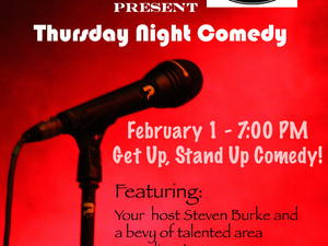 ComedyFLOPs and The Dock Present Get Up, Stand-Up Comedy!