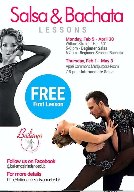 Free First Lesson: Beginner Salsa and Bachata Lesson Series