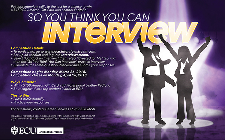 So You Think You Can Interview