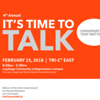 YWCA of Greater Cleveland's 4th Annual It's Time to Talk- Forum on Race