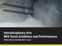 Interdisciplinary Arts MFA Thesis Exhibitions Opening Reception