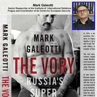 LECTURE CANCELLED:  Russian Organized Crime: Were Politics, Business, and History Collide, lectue by Mark Galeotti