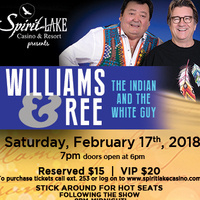 Williams and Ree - Indian and The White Guy