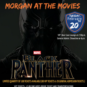 Morgan @ the Movies- Special Screening- Marvels Black Panther