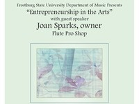 "Guest Lecture: ""Entrepreneurship in the Arts"""