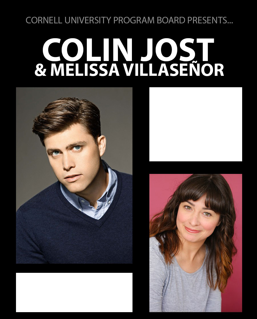 SNL's Colin Jost with special guest Melissa Villaseñor