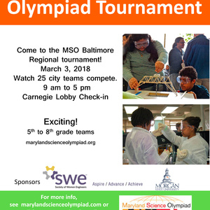 Maryland Science Olympiad Baltimore Regional Tournament