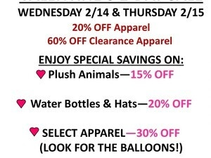 Valentine's 2-Day Sale!