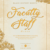 Black History Month Faculty & Staff Mixer