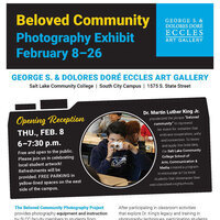 2018 Beloved Community Photography Exhibit/Opening Reception
