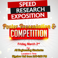 Speed Student Research Exposition