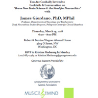 Music for the Mind with James Giordano, PhD, MPhil