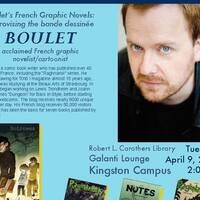 Boulet: French graphic novelist presentation & performance