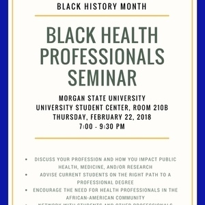 Black Health Professionals Seminar