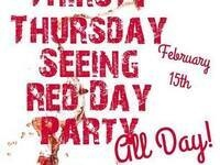 Thirsty Thursday Red Party @ Drink Washington State & Eternal Wines