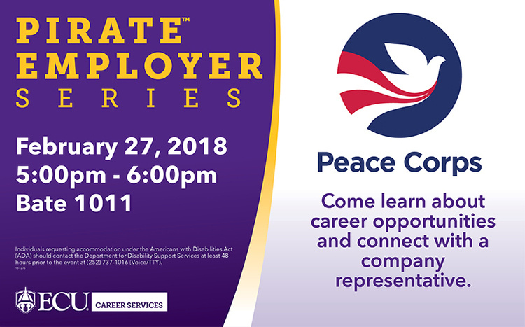 Pirate Employer Series - Peace Corps