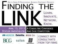 Finding the LINK Consulting Conference and Case Competition