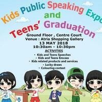 Kids Public Speaking Expo and Teens' Graduation