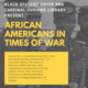 Black Student Union and the Cardinal Cushing Library: African Americans in Times of War