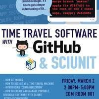Time Travel Software with Github and SCIUNIT