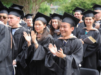 McDonough School of Business MBA  2013 Commencement