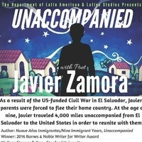 Unaccompanied with Javier Zamora - Poetry Reading