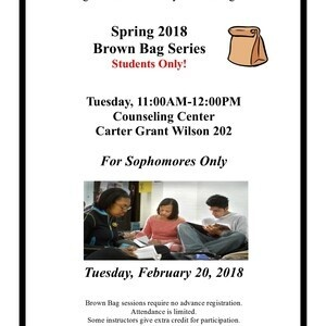 Brown Bag Series - For Sophomores Only