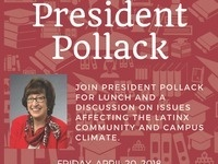 Lunch with President Pollack