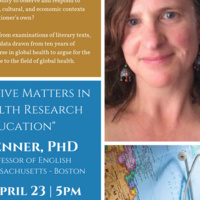 "Louise Penner: ""Why Narrative Matters in Global Health Research  and Education"""