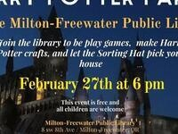 Harry Potter Party @ Milton-Freewater Public Library