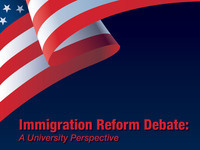 Immigration Reform Debate – a University Perspective