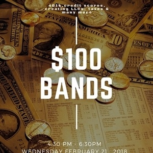 $100 Bands - Financial Literacy Workshop