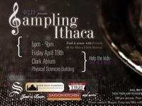 Phi Sigma Pi presents Sampling Ithaca