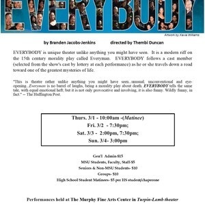 Theatre Morgan present: EVERYBODY