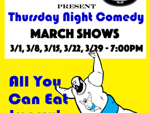 All You Can Eat Improv To Benefit The Mental Health Association!