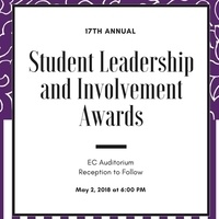 Submit your nominations for the Student Leadership & Involvement Awards!