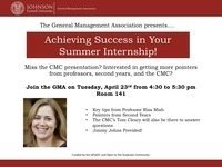 Achieving Success in Your Summer Internship