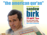The American Qur'an: Dr. T. Project guest Sandow Birk