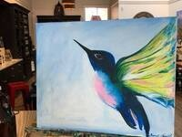 Hummingbird Paint Night @ Goose Ridge Winery