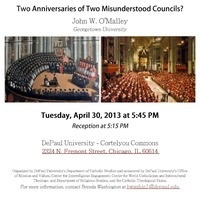 Trent and Vatican II: Two Anniversaries of Two Misunderstood Councils?