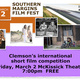 Be sure to check out the Southern Margins International Short Film Festival Friday at 7pm in McKissick Auditorium, Hendrix Center