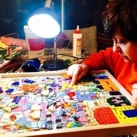 Mosaic Art Demonstration