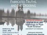 "Annual Sociology Conference 2018 ""Authentic Myths, Fabricated Truths and The Ordering of Society"""