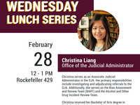 AASP and A3C Lunch Series, Christina Liang