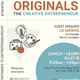 "Lunch & Learn Series: ""Originals: The Creative Entrepreneur"" with Liz Deering"
