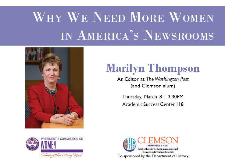 """Marilyn Thompson, """"Why we need more women in America's newsrooms"""""""