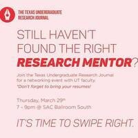 """Time to Swipe Right"": Undergraduate Research Expo"